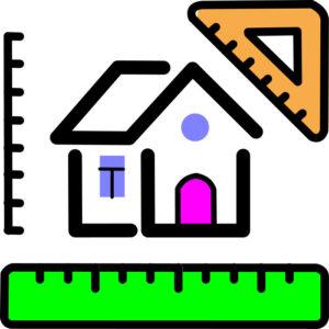 Размеры частного дома со всех сторон