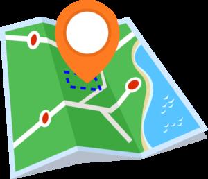 Местоположение земельного участка на карте